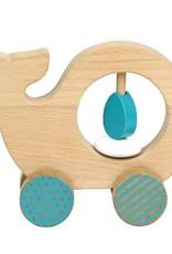 Petit Collage PTC219 WAC-Whale Push Along toy