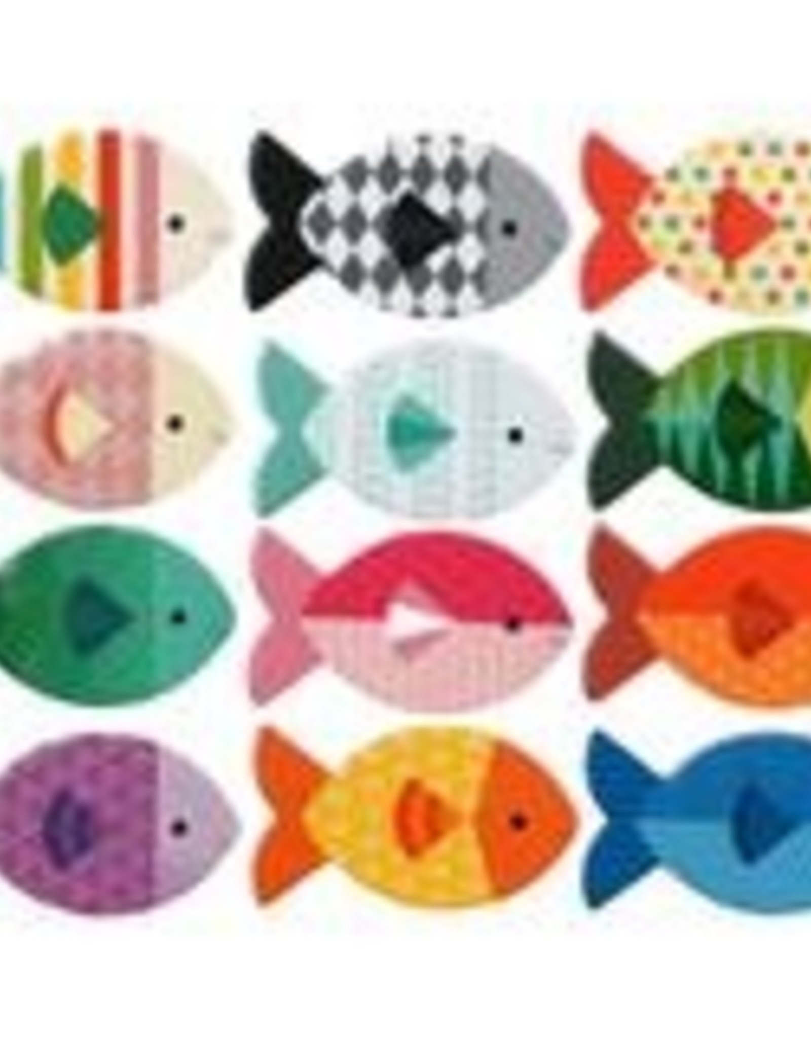 Petit Collage PTC232 MG-Fish Memo Game Gone Fishing