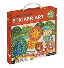 Petit Collage PTC247 CS-Animal Friends Sticker Art
