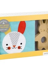 Petit Collage PTC199 SBS-Rabbit Soft Book and Teether