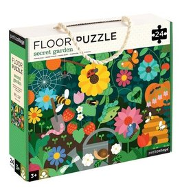 Petit Collage PTC254 FP-Secret Garden Floor Puzzle