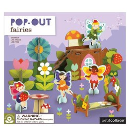 Petit Collage PTC114 PO-Fairies Pop Out