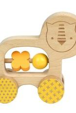 Petit Collage PTC220 WAC-Lion Little Push Along Toy
