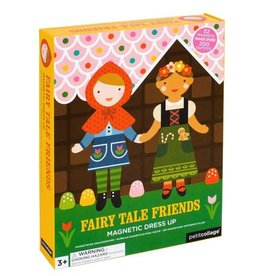 Petit Collage PTC104 Magnetic Dress Up Fairytale Friends