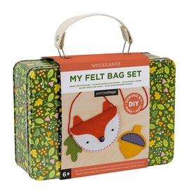Petit Collage PTC241 DIY Fox Felt Bag
