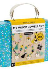Petit Collage PTC240 DIY Wood Jewellery
