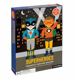Petit Collage PTC106 Magnetic Dress Up Superheroes