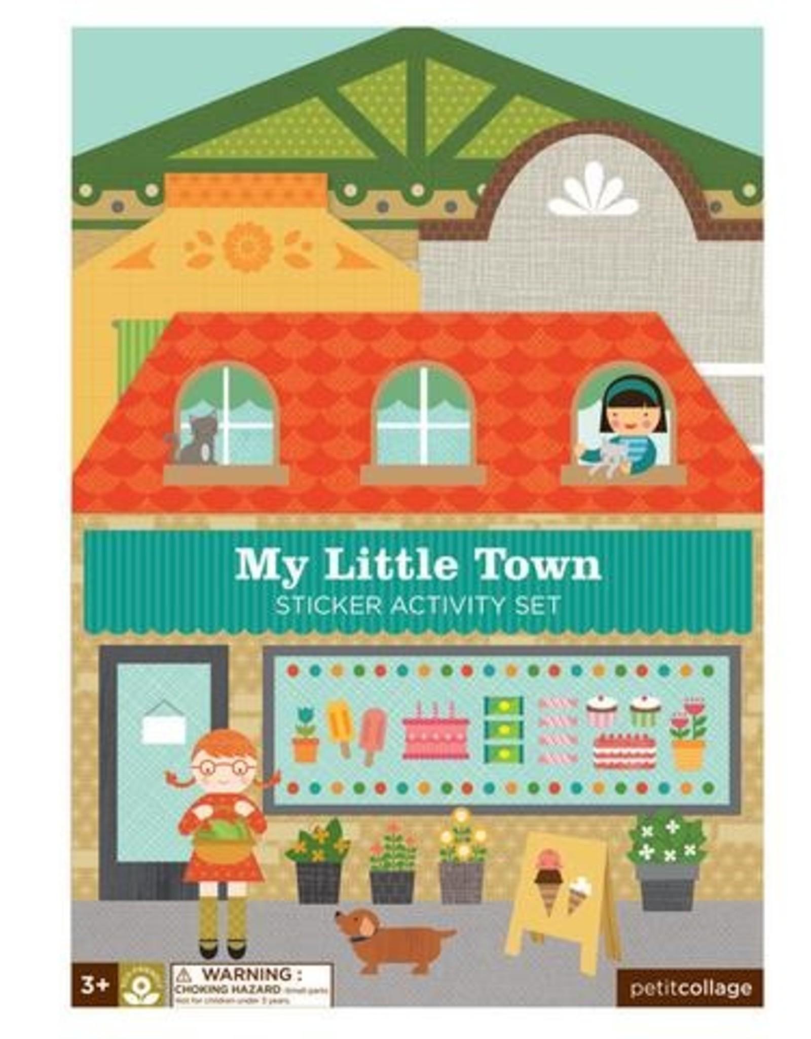 Petit Collage PTC182 My Little Town Sticker Activity Set