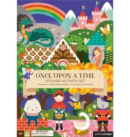 Petit Collage PTC121 Once Upon A Time Sticker Activity Set
