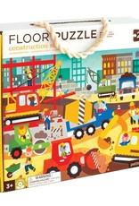 Petit Collage PTC096 Floor puzzle construction site