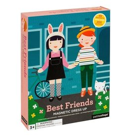 Petit Collage PTC105 Magnetic Dress Up - Best Friends