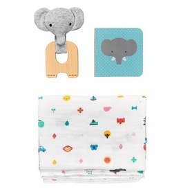Petit Collage PTC461 Little Elephant Baby Gift Set