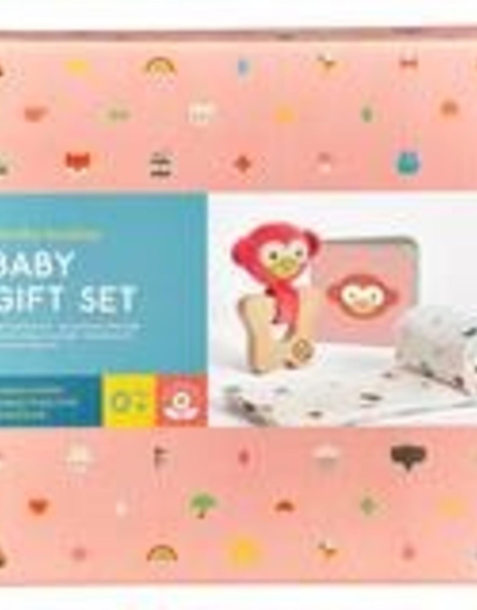 Petit Collage PTC488 Little Monkey Baby Gift Set