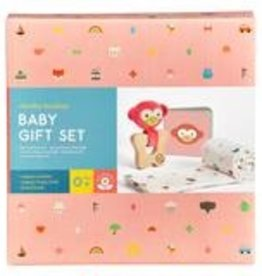 Petit Collage PTC488 Little Monkey Baby Gift Set
