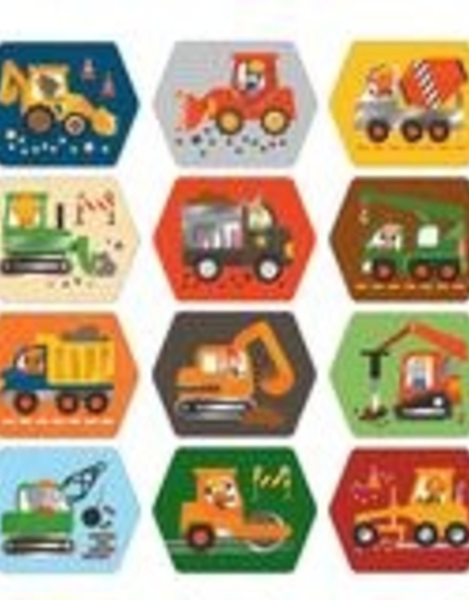 Petit Collage PTC150 Memo Game - Construction