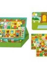 Petit Collage PTC243 Magnetic Play Scene - Treehouse Party