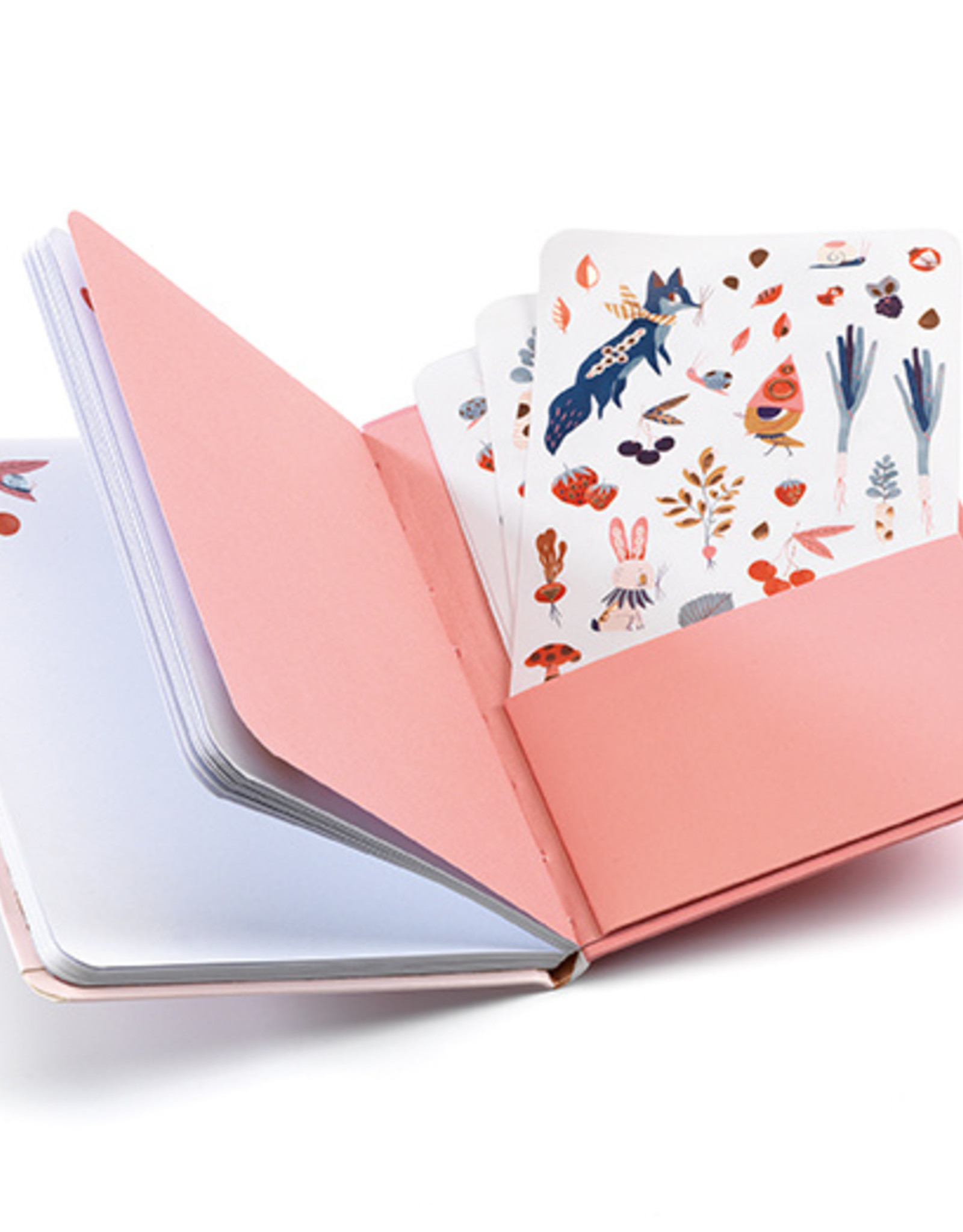 Djeco Notebook Stickers Lucille