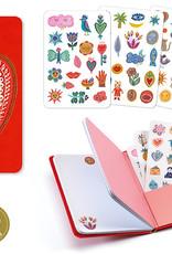 Djeco Notebook Stickers Aurelia