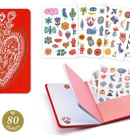 Djeco Notebook Stickers Aurelia