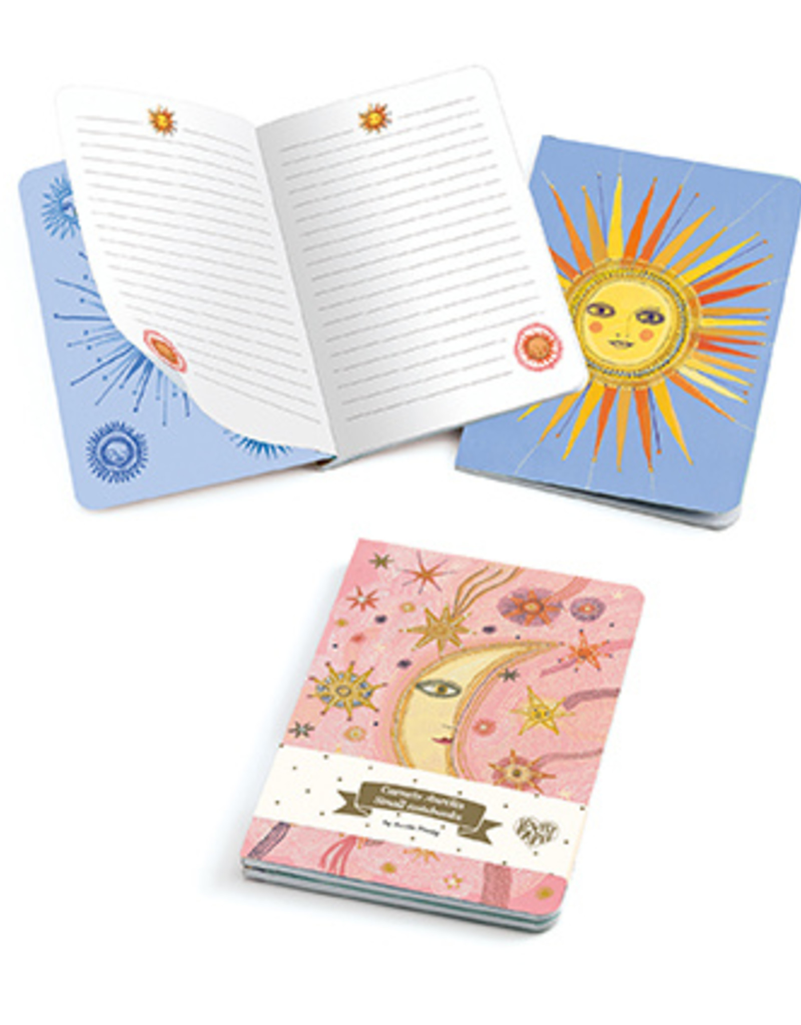 Djeco Aurelia Small Notebook (set of two)