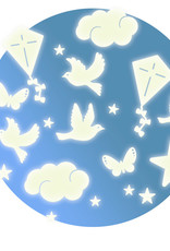 Djeco Glow-in-the-Dark Ceiling Stickers In the sky