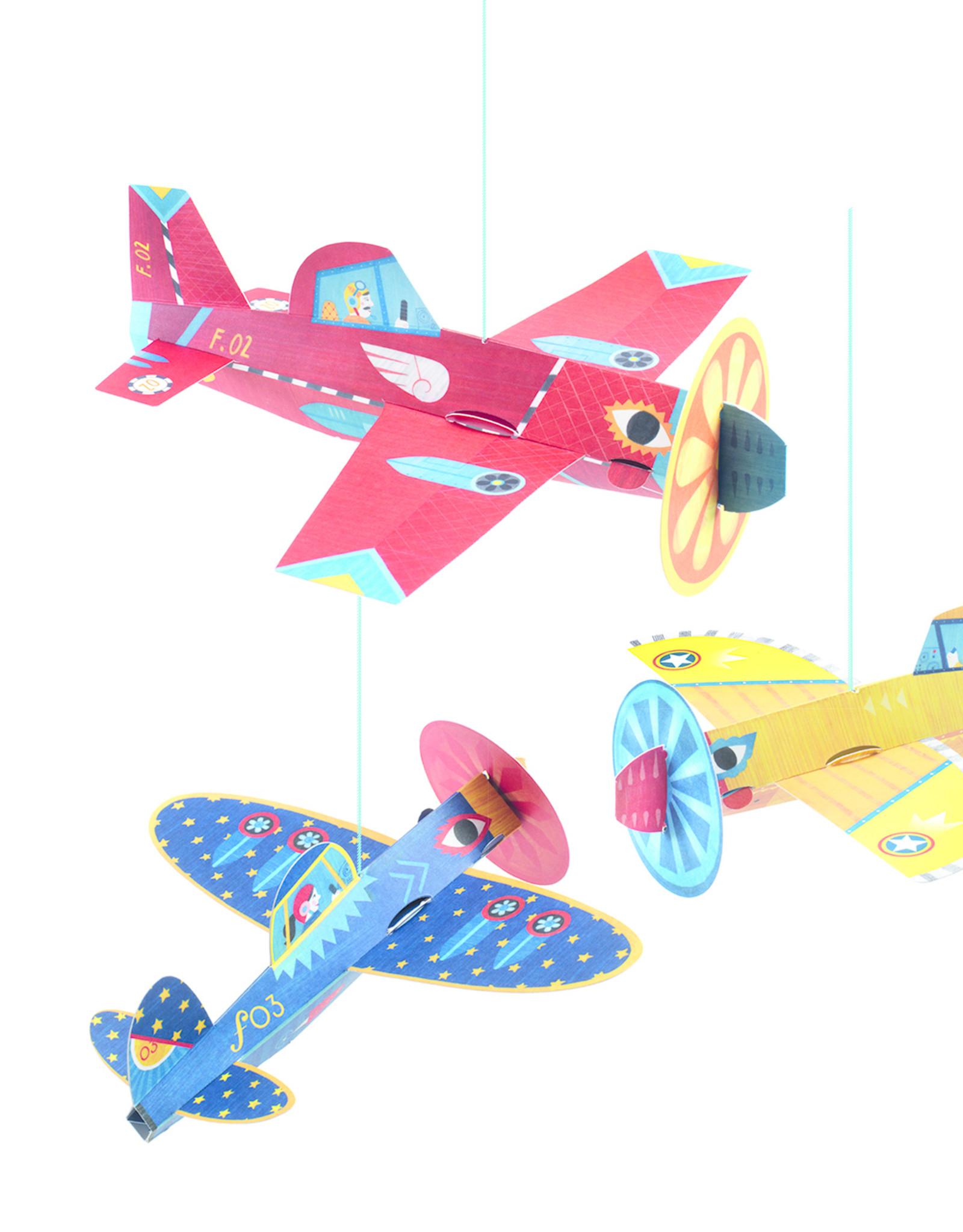 Djeco Hanging decors - Planes
