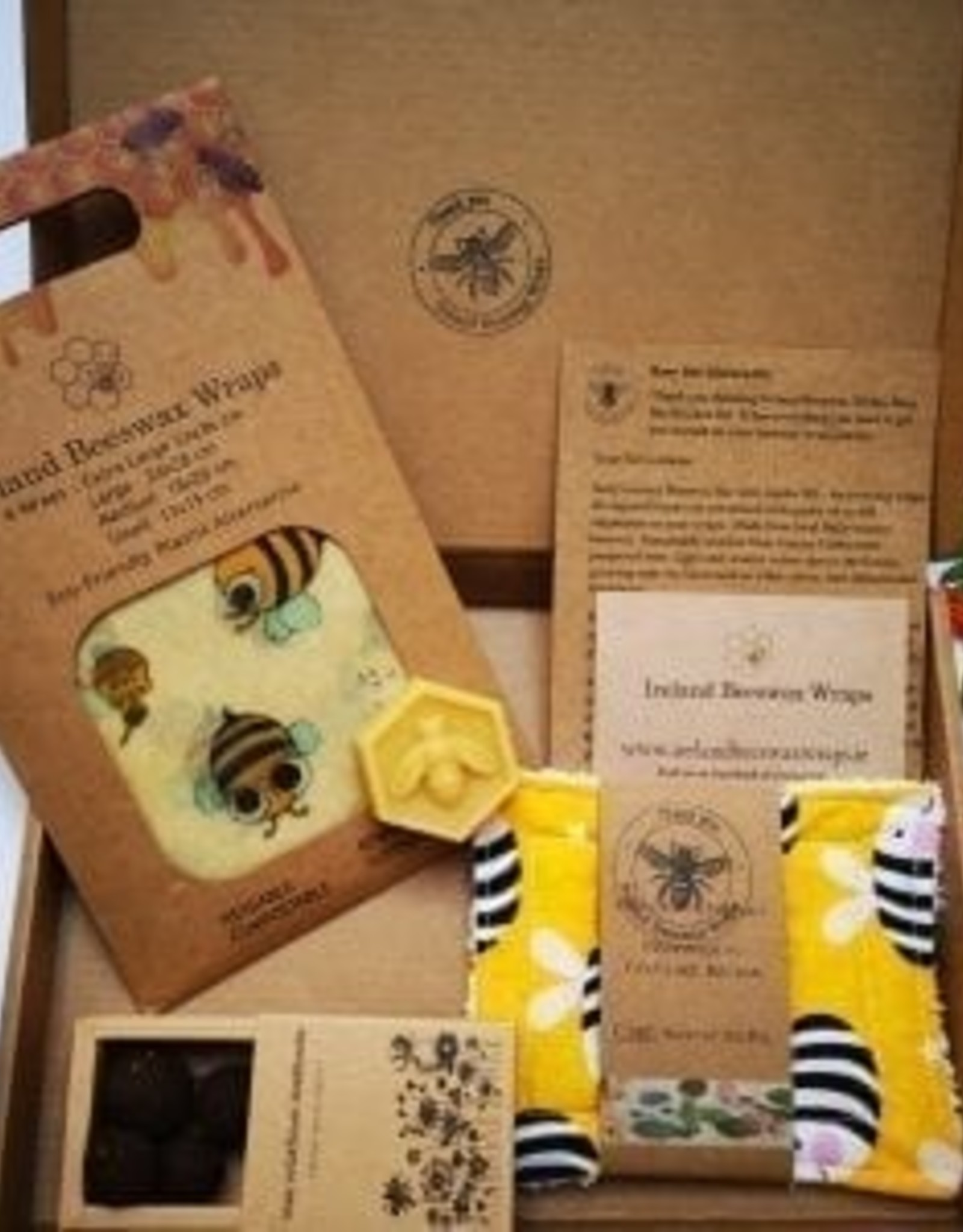 Ireland Beeswax Wraps Busy Bee Kitchen Kit