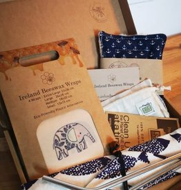 Ireland Beeswax Wraps Zero Waste Kitchen Kit