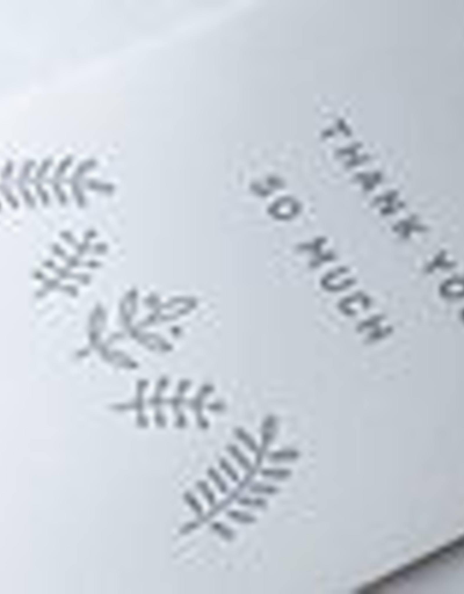 The Pear in Paper Letterpress - Thank you so much