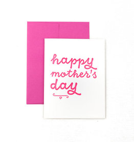 The Pear in Paper Letterpress - Happy Mother's Day