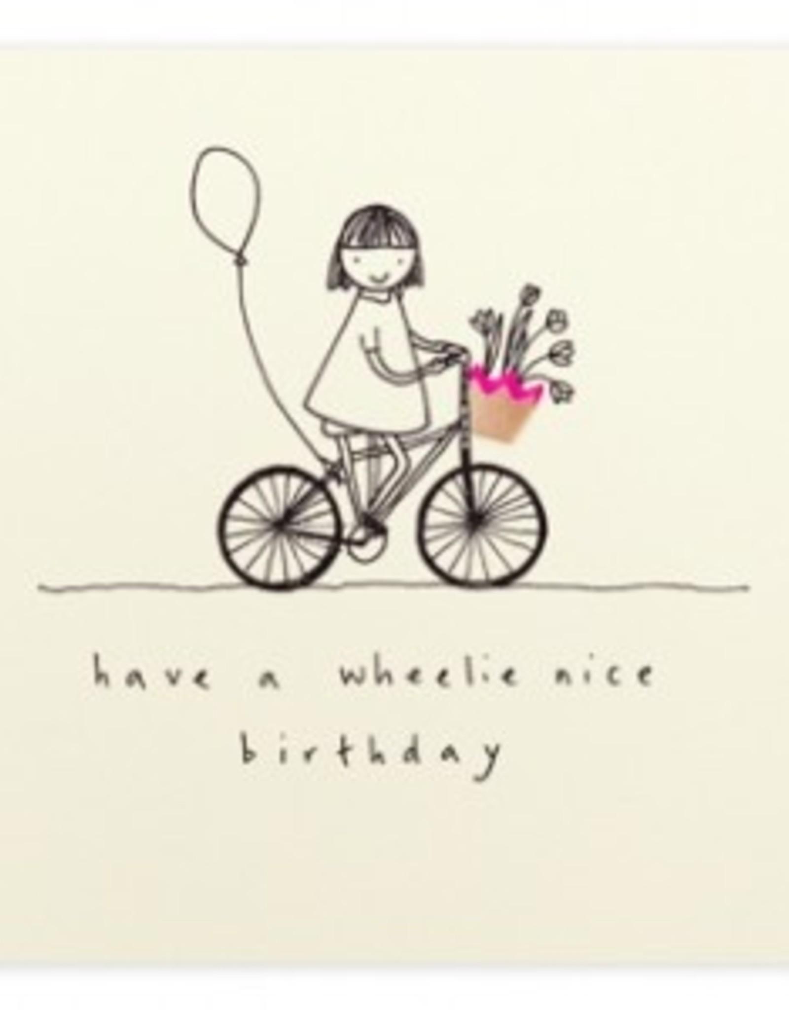 Ruth Jackson Ruth Jackson Have a wheelie nice Birthday