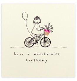 Ruth Jackson Have a wheelie nice Birthday