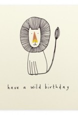 Card Boutique Ruth Jackson Have a wild birthday (lion)