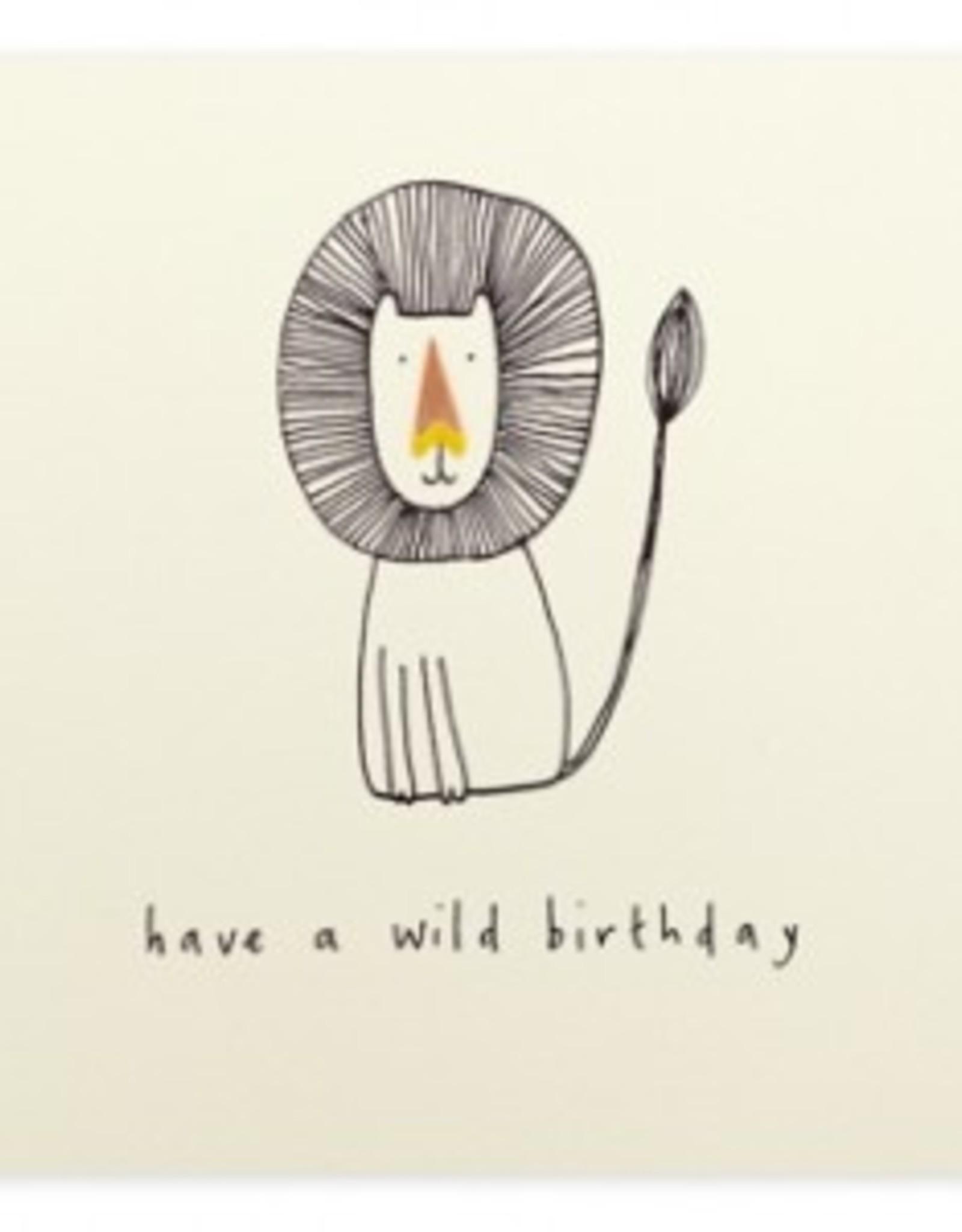 Ruth Jackson Have a wild birthday (lion)