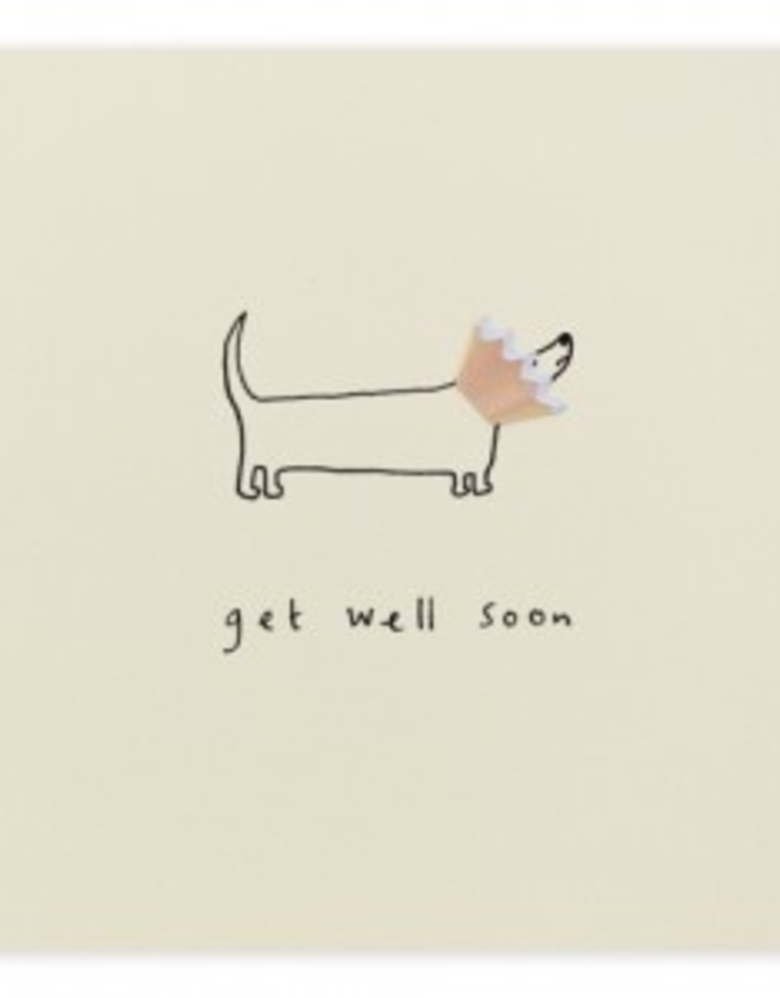 Card Boutique Ruth Jackson Get well soon (dog)