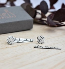 Taer Jewellery Taer Jewellery  ' A Maze In' Jacket Earrings