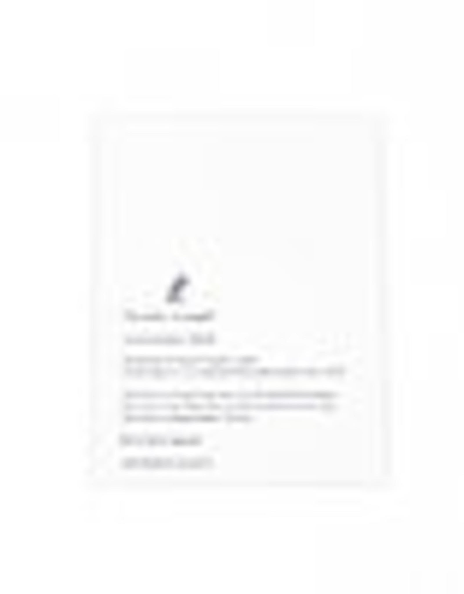 The Pear in Paper Letterpress - Individually we are one drop