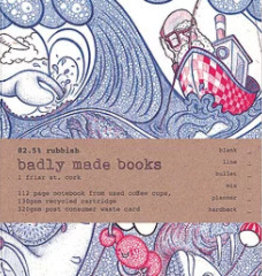 Badly Made Books Badly Made Books - Other Seas Notebook A5
