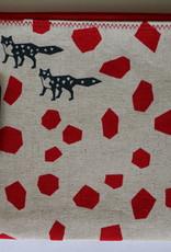 "Mr Kite Mr Kite Purse ""black foxes"""