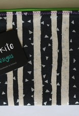 "Mr Kite Mr Kite Purse ""black & white"""