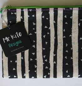 "Mr Kite Mr Kite Purse ""black & white"""