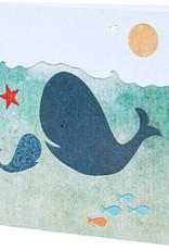 Mr Kite Mr Kite Whales card