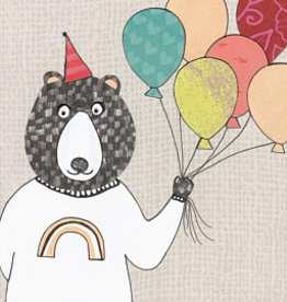 Mr Kite Mr Kite Party Bear card