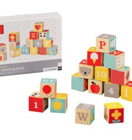 Petit Collage Petit Collage ABC Wood Blocks