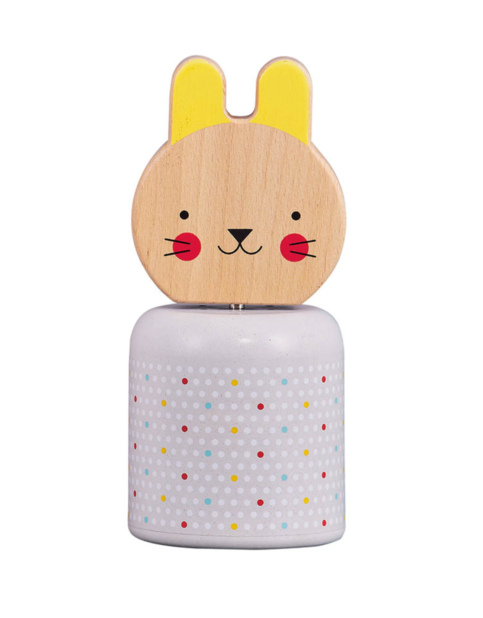 Petit Collage PTC462 - Wooden Wind-up Musical Bunny