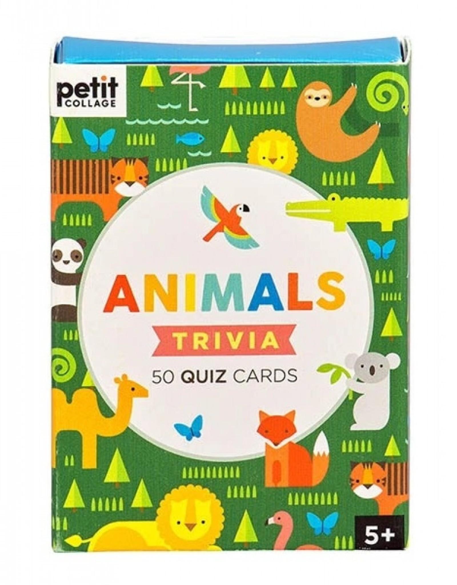 Petit Collage PTC473 - Animal Trivia Cards