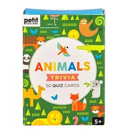 Petit Collage PTC473 - Animal Trivia Cards