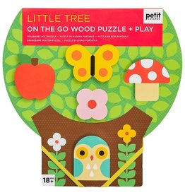 Petit Collage Chunky Wood Puzzle Little Tree