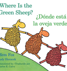 HMH Books Donde Esta La Oveja Verde/Where Is The Green Sheep - Mem Fox, Judy Horacek