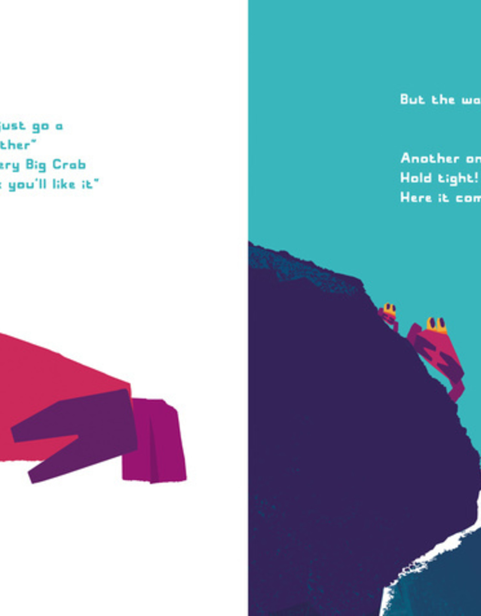 Don't Worry, Little Crab (Softcover) - Chris Haughton